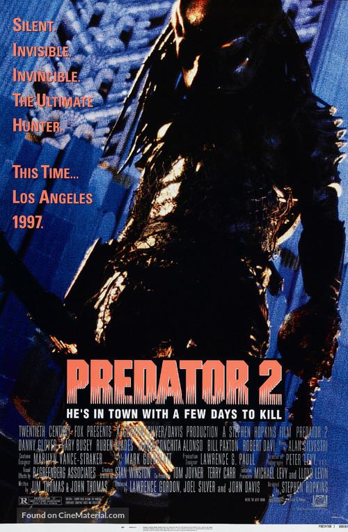Predator 2 - Movie Poster