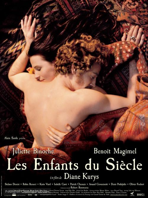 Les enfants du siècle - French Movie Poster