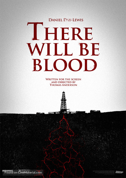 There Will Be Blood - Movie Poster