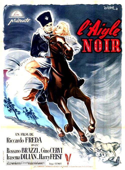 Aquila nera - French Movie Poster