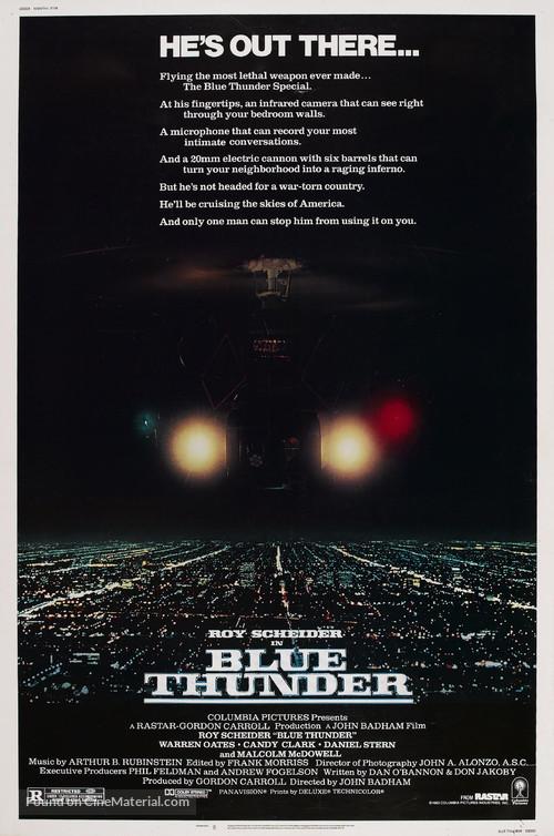 Blue Thunder - Movie Poster