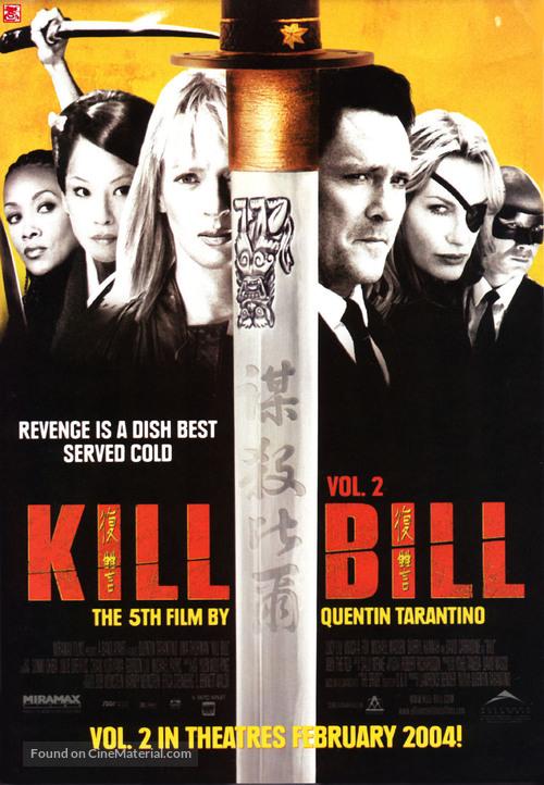 Kill Bill: Vol. 2 - Canadian Movie Poster