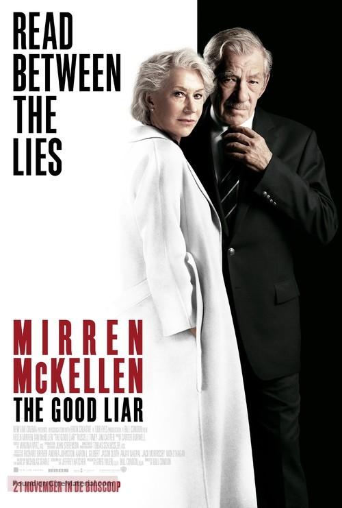 The Good Liar - Dutch Movie Poster