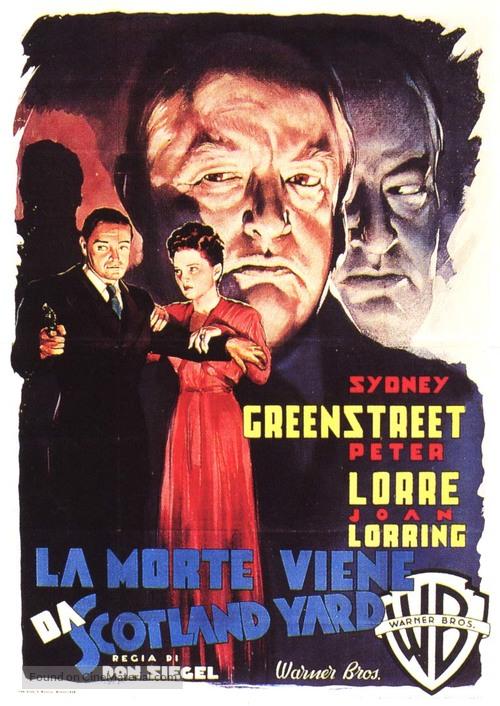 The Verdict - Italian Movie Poster
