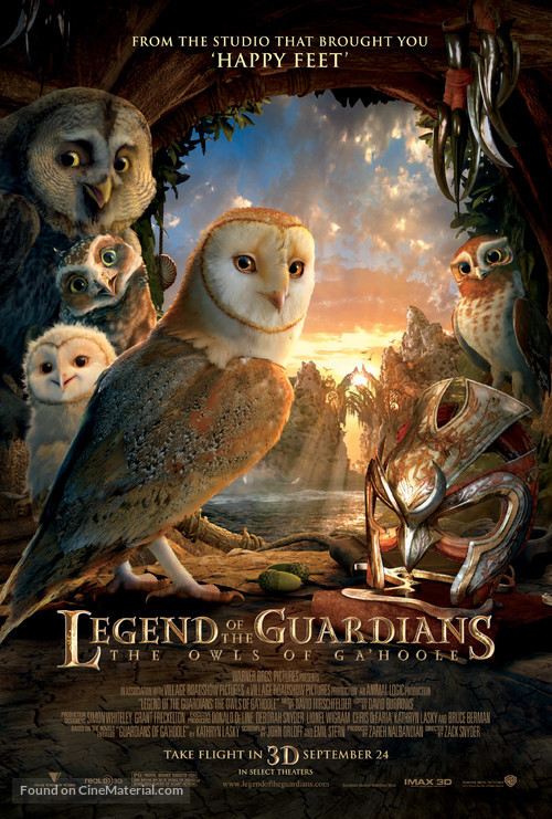 Legend of the Guardians: The Owls of Ga'Hoole - Movie Poster