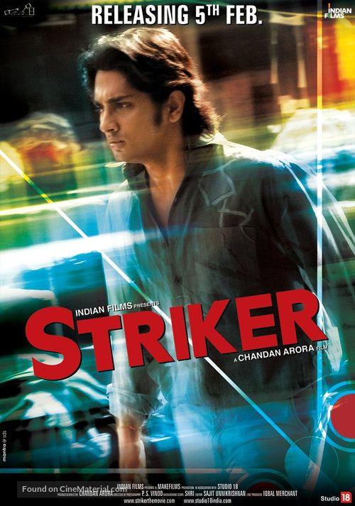 Striker - Indian Movie Poster