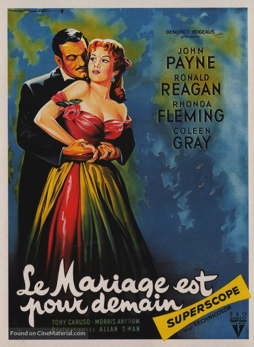 Tennessee's Partner - French Movie Poster