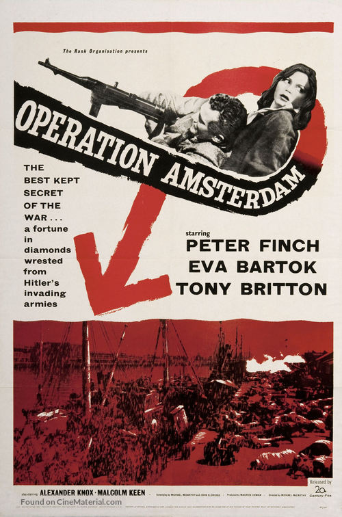 Operation Amsterdam - Movie Poster