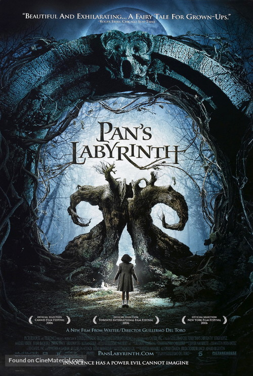 El laberinto del fauno - Movie Poster