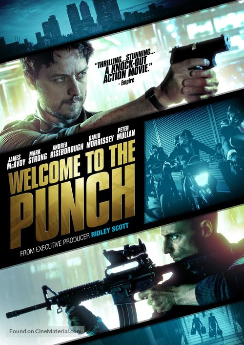 Welcome to the Punch - DVD movie cover