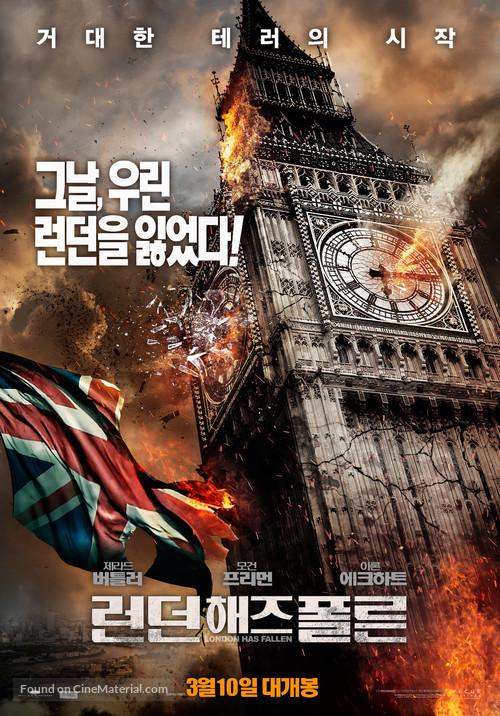 London Has Fallen - South Korean Movie Poster