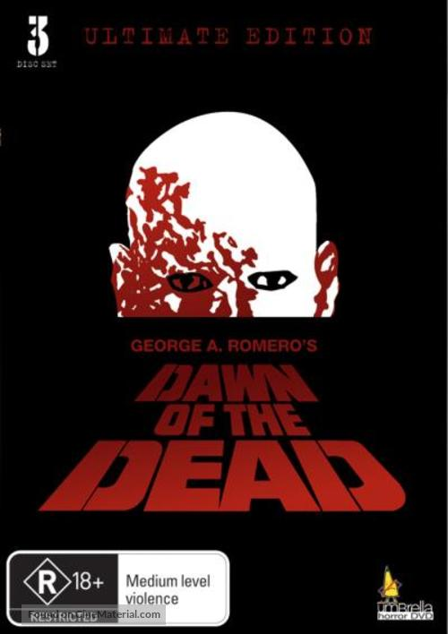 Dawn of the Dead - Australian DVD movie cover