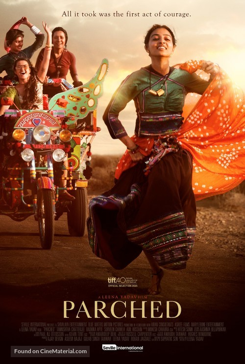 Parched - Canadian Movie Poster