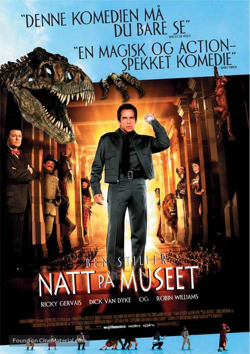 Night at the Museum - Norwegian Movie Poster