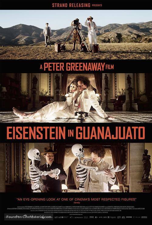Eisenstein in Guanajuato - Movie Poster