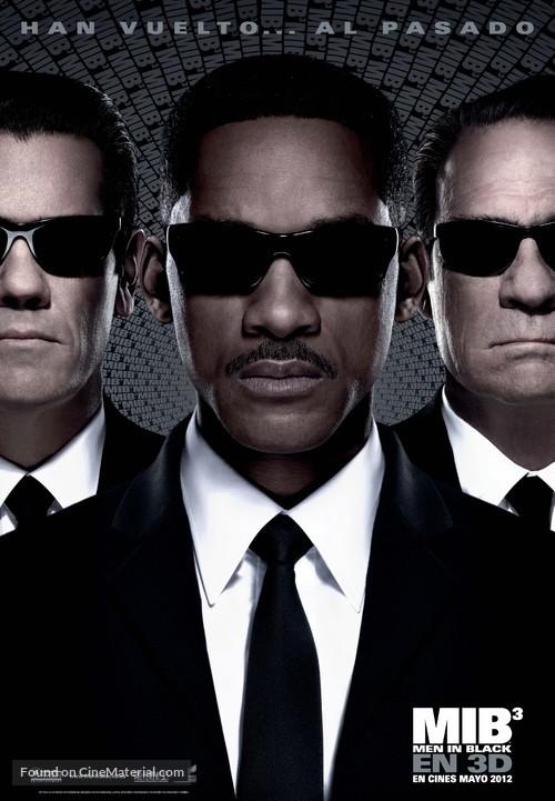 Men in Black 3 - Spanish Movie Poster