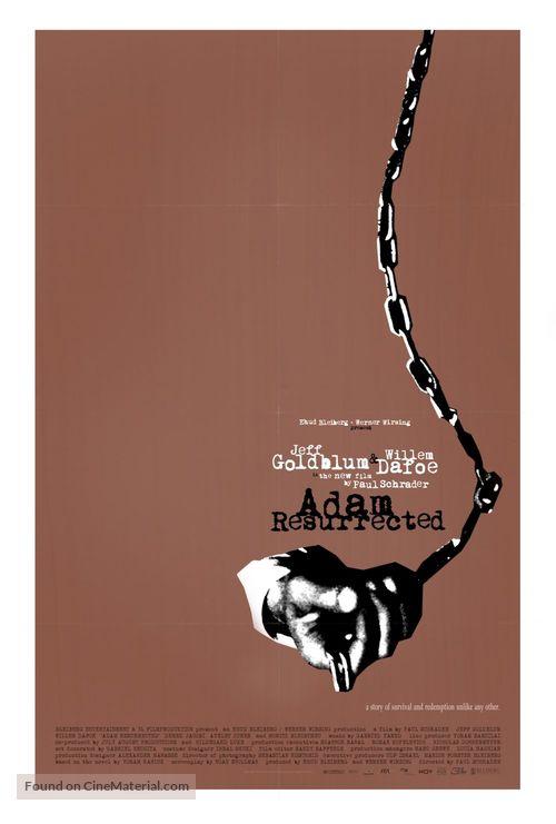 Adam Resurrected - Movie Poster