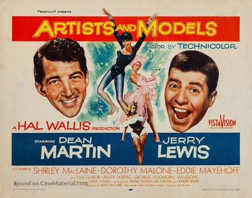 Artists and Models - Movie Poster