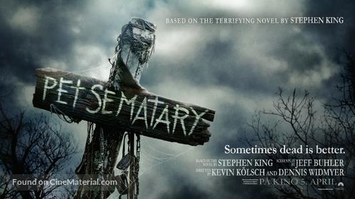 Pet Sematary - Norwegian Movie Poster