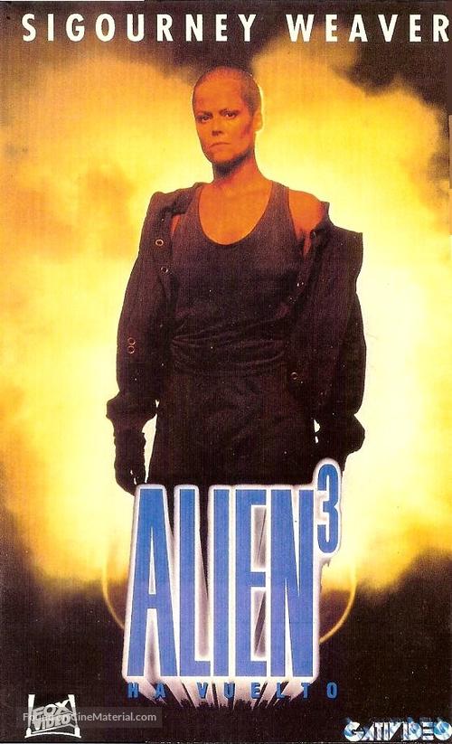 Alien 3 - Argentinian poster