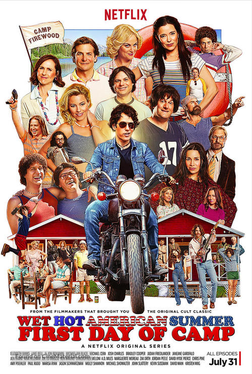 """Wet Hot American Summer: First Day of Camp"" - Movie Poster"