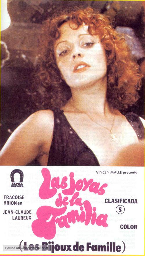 style de mode nouveau sélection Excellente qualité Les bijoux de famille (1975) Spanish movie cover