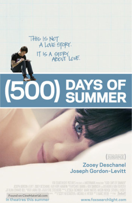 (500) Days of Summer - Never printed poster