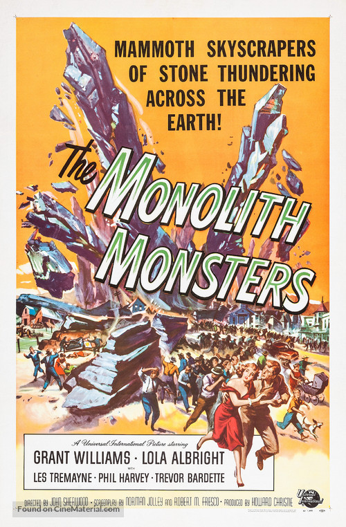 The Monolith Monsters - Movie Poster