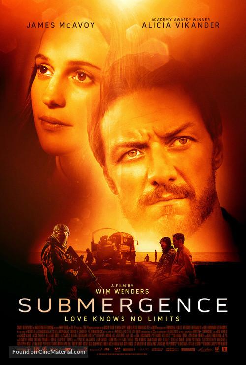 Submergence - Movie Poster