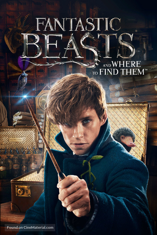 Fantastic Beasts and Where to Find Them - Movie Cover