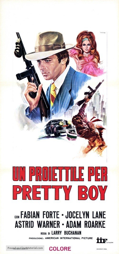 A Bullet for Pretty Boy - Italian Movie Poster