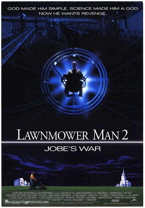 Lawnmower Man 2: Beyond Cyberspace - Canadian Movie Poster