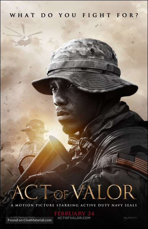Act of Valor - Movie Poster