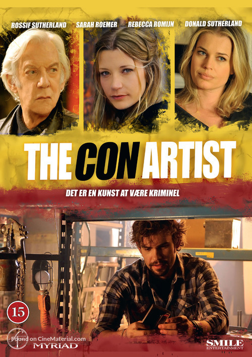 The Con Artist - Danish DVD cover