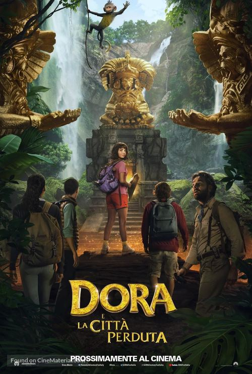 Dora and the Lost City of Gold - Italian Movie Poster