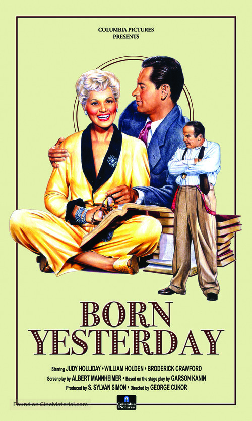 Born Yesterday Movie Poster