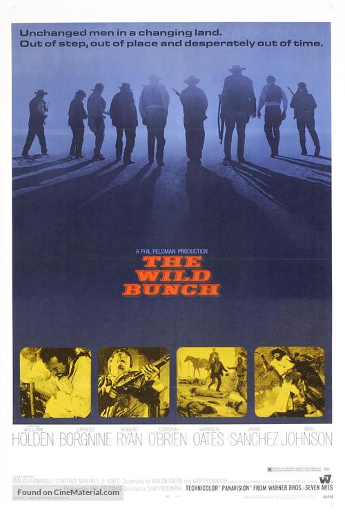 The Wild Bunch - Movie Poster