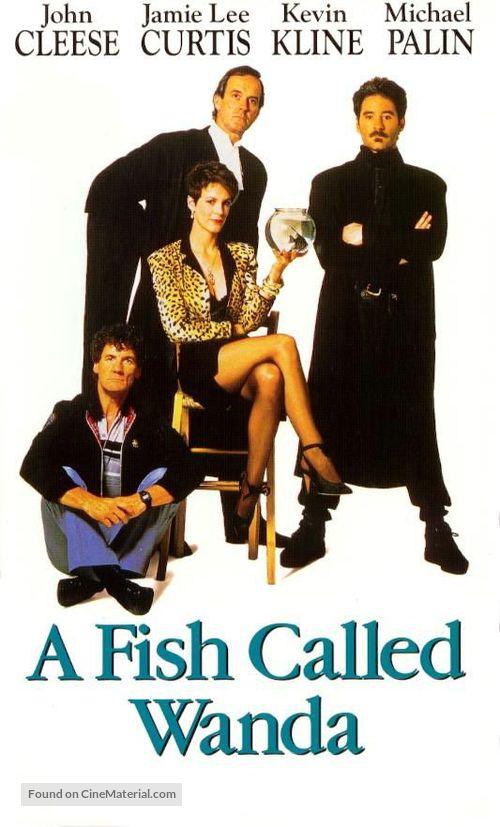 A Fish Called Wanda - Movie Poster