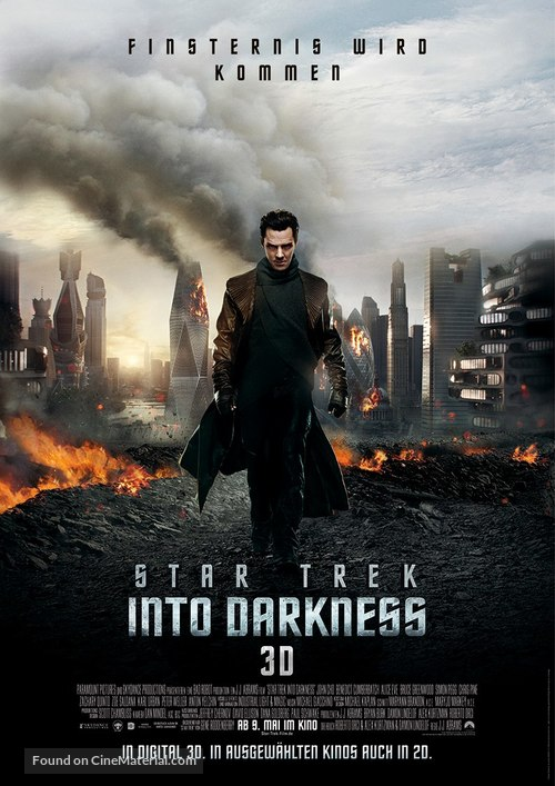 Star Trek: Into Darkness - German Movie Poster