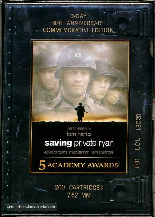 Saving Private Ryan - DVD cover