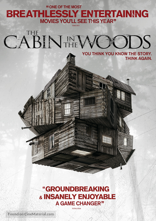 The Cabin in the Woods - DVD movie cover
