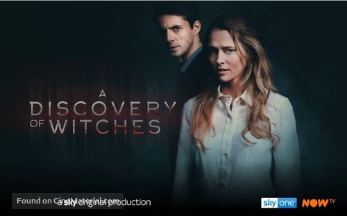 """""""A Discovery of Witches"""" - British Movie Poster"""