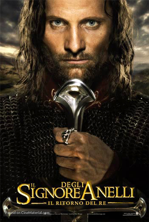 The Lord of the Rings: The Return of the King - Italian Movie Poster