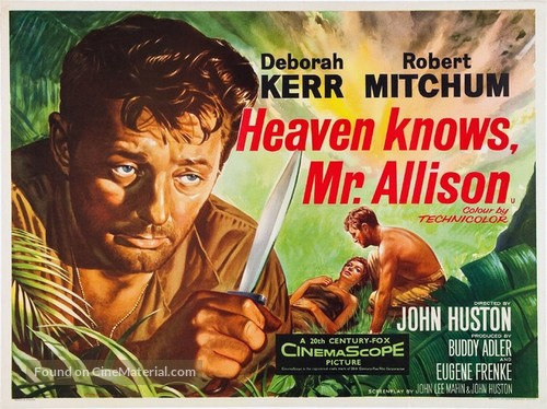 Heaven Knows, Mr. Allison - British Movie Poster