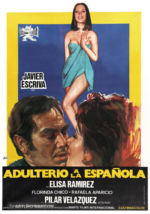 Adulterio a la española - Spanish Movie Poster