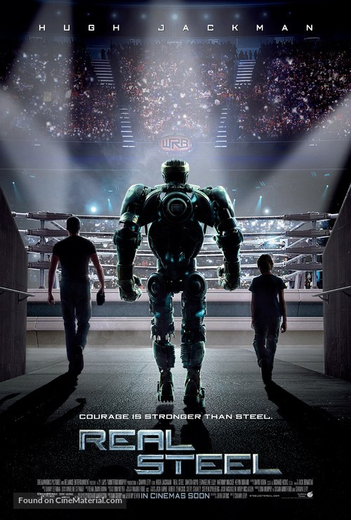 Real Steel - British Movie Poster