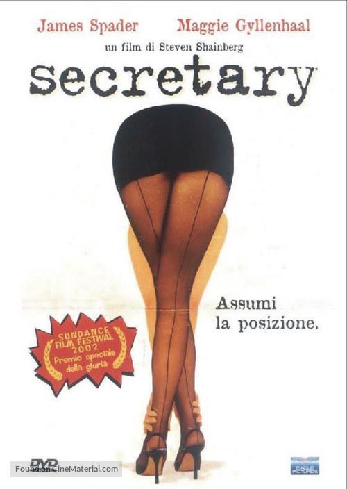 Secretary - Italian DVD movie cover