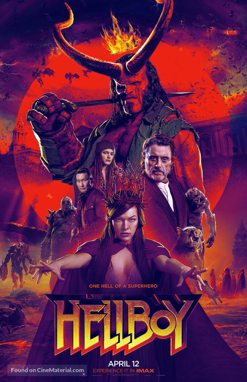 Hellboy - Movie Poster