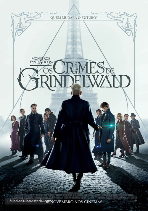 Fantastic Beasts: The Crimes of Grindelwald - Portuguese Movie Poster