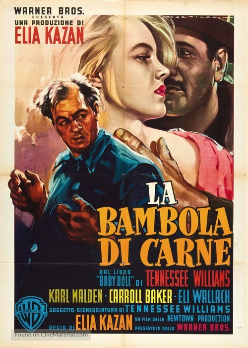 Baby Doll - Italian Movie Poster